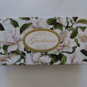 NEW Saponificio Gardenia Soap Set of 3